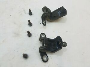 2001-2007 Toyota Sequoia REAR DRIVER Door Hinges Pins Bolts Pair Set Repair . .