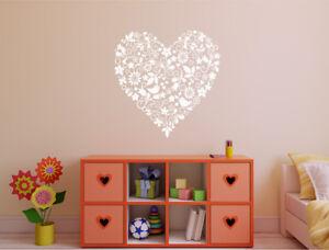 Heart wall sticker | Heart wall decal | Heart Wall Art | Decorative Wall Sticker
