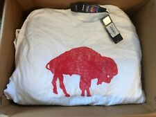 BRAND NEW WITH TAGS BNWT STANDING BUFFALO BILLS LOGO NFL SIZE MENS LARGE T-SHIRT