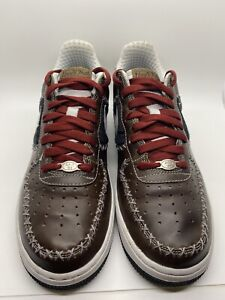 """Nike Air Force 1 Premium """"Untold Truth"""" New York Cubans Men's Size 8.5 Preowned"""