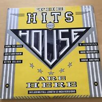LP Vinyl 12 inch Record Album The Hits of House Are Here Double