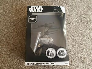 Star Wars RC Millennium Falcon Drone Heliball Boxed