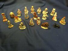 Vintage Wade Porcelain Nursery Rhyme Figurines in-Complete Set 20 Red Rose Tea