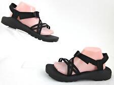CHACO ZX/1 Unaweep Womens Sandals Black Vibram Soles US 11 Fantastic!