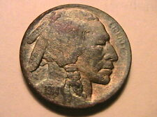1914-D Buffalo Nickel 5C XF Extra Fine Nice Toned Scarce Date USA Five Cent Coin