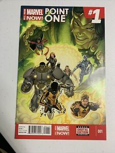 All New Marvel Now Point One #1 - 1st. App Kamala Khan