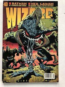 Wizard Guide To Comics Magazine December, 1994 Spawn Neil Gaiman Frank Miller