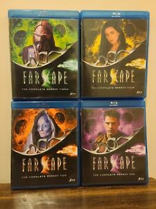 Farscape: The Complete Series (Blu-ray Disc, 2011, 20-Disc Set) A&E
