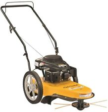 String Trimmer Mower 22 in. 159cc Gas Walk Behind Rust Resistant Stamped Deck