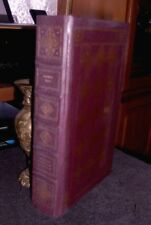 Vanity Fair by William Thackeray 1981 Franklin Library Leather HC Gilt Bookmark