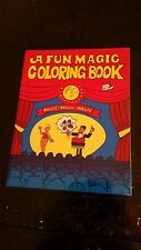 """Magic Colouring Book - Circus - Large 11"""" by 8.5"""""""