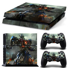 Optimus Prime PS4 Protective Skin Sticker Set Console and 2 Controllers - #288