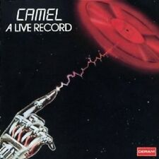 "CAMEL "" A LIVE RECORD"" 2 CD NEW"