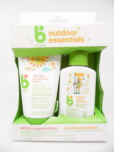 Babyganics Outdoor Essentials Mineral-Based SPF 50+ Sunscreen + Insect Repellent