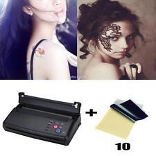110-220V tatuaggio Trasferimenti Tattoo Transfer Copier Machine 5-35℃ 1.17kg