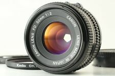 [Near Mint] Canon New FD 50mm f/2 Lens from Japan  #43