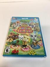 Animal Crossing: Amiibo Festival Nintendo Wii U Brand New Factory Sealed