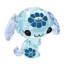 SWAROVSKI THE LOVLOTS #5004520 WAN WAN THE DOG BNIB ZODIAC BLUE CRYSTAL FLOWER