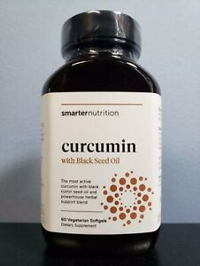 Smarter Nutrition Curcumin Potency Absorption 95 Tetra-hydro Curcuminoids 60ct