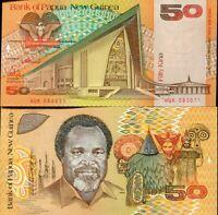 ND P-11 1989 UNC /> Scarce First 50 Kina Papua New Guinea