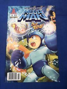 MEGA MAN #6 Deep Trouble HTF Newsstand Variant Archie Comics 2011 NM+