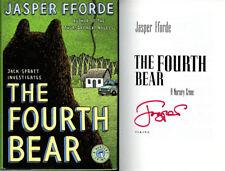 Jasper Fforde SIGNED AUTOGRAPHED The Fourth Bear HC 1st Ed/1st Print BRAND NEW