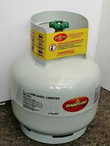Like New 3.7kg Swap'n'Go BBQ Gas Bottle, full of gas.