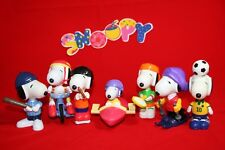 McDonald's Happy Meal Toys Sporty Snoopy 2002 Asia (7 PIECES IN  SET)