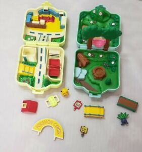 Vintage Pokemon Polly Pocket MONSTERS TOMY PLAY SET COMPACT FIGURES LOT