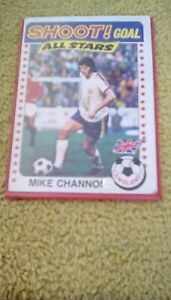 Shoot Goal All Stars Football card no 137 Mike Channon 1970's