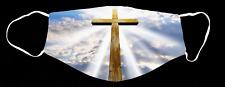 Christian Faith Religious Cross Church Custom Face Mask