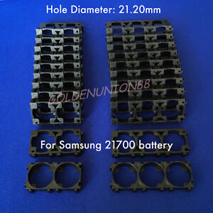 3x or 2x 21700 battery Plastic Spacer Frame Holder Hole D21.20 for samsung 21700