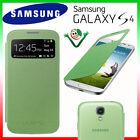 Custodia originale Samsung per Galaxy S4 Value Edition i9515 S-View cover Verde