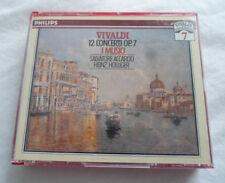 2 CD Vivaldi I Musici 12 Concerti Op 7 Accardo Holliger Philips Silver Center