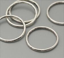 20x tíbet plata de metal anillos spacer 24mm ms369