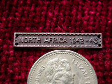 Replica/Copy NORTH AFRICA 1942-43 bar clasp Aged