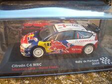 DIE CAST CITROEN C4 WRC LOEB-ELENA RALLY DE PORTUGAL 2009 SCALA 1/43