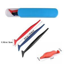 Kit con micro spatole applicazione pellicole car wrapping fessure zone strette