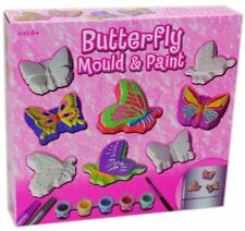 Stampo Farfalla e vernice Set Bambini attività creativa giocattolo gesso kit scatola di colore