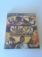 Super Street Fighter IV Sony PlayStation 3 PS3 Video Games