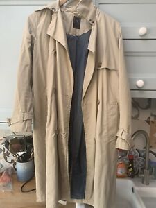 womens gap trench coat size 10