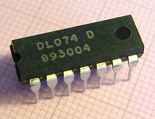 20x DL074D (=74LS74) Dual D-Type Flip Flop