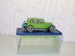 Tintin 1:43, The Lotus Blue, La Car Green, atlas