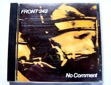 FRONT 242 - NO COMMENT - 1988 WAX TRACKS RECORDS - CD D' OCCASION BON ETAT -