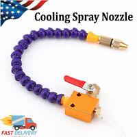 """Sinz SP103 Steel Coolant Hose w// Round Nozzle 3//8/"""" 12/"""" length"""