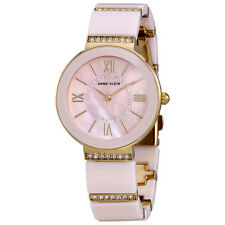 Anne Klein Light Pink Mother of Pearl Dial Ladies Watch 2832LPGB
