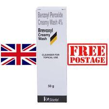 Brevoxyl Benzoyl Peroxide Cream Wash 4% for Acne Vulgaris Spots Blackhead - 50g