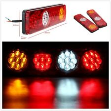 2pcs 24V 36 LED Rear Trailer Tail Lights Caravan Truck Boat Car Indicator Lamp