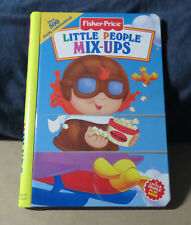 NEW FISHER-PRICE LITTLE PEOPLE MIX-UPS BOOK PLAY BOOK W/ 500+ WACKY COMBINATIONS