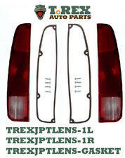 1973 1/2-1988 Jeep J-truck left & right tail light lens, gaskets and 8 screws.